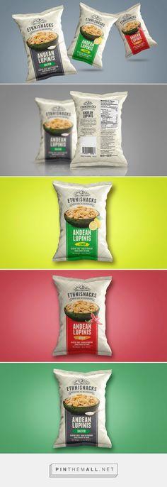 Ethnisnacks — The Dieline - Branding & Packaging. Chip Packaging, Packaging Snack, Branding And Packaging, Organic Packaging, Simple Packaging, Food Packaging Design, Packaging Design Inspiration, Branding Design, Label Design