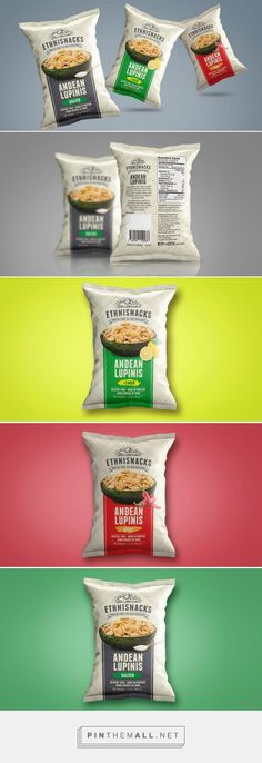 Ethnisnacks — The Dieline - Branding & Packaging - created via http://pinthemall.net