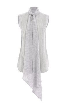 Sleeveless Max Tie Shirt by Christopher Esber - Moda Operandi
