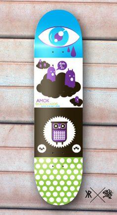 Amok Skateboards #skate #skateboard