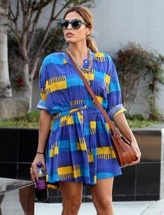 Eva Mendes - Eva Mendes Spotted Out And About In West Hollywood