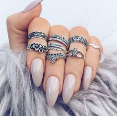 •Indigo_lune nails•