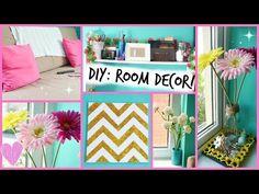 ♡ DIY: Easy Room Decor Ideas ♡ - YouTube