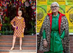 The style icon who teaches older women about the power of fashion Vintage Gowns, Vintage Outfits, Purple Polo Shirts, Russian Hat, Baggy Tops, 65 Years Old, Expensive Clothes, Older Women Fashion, Older Men
