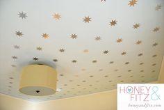 DIY Starry Ceiling Tutorial