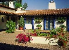 Spanish Style Courtyards