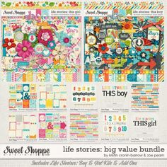 Life Stories: Big Value Bundle by Kristin Cronin-Barrow & Zoe Pearn. $35.90