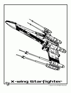 Coloring Pages Of Star Wars Ship 5 Sheet