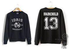 Fairchild 13 Idris University Crew neck Sweatshirt by Dreambigzz
