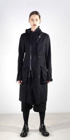 Rundholz Mainline Fine Wool and Ramie Coat