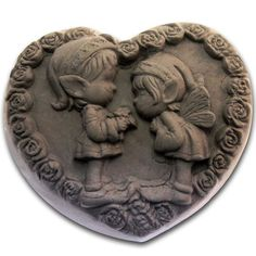 Love Elfin S148 Silicone Soap Mold Craft Molds Diy Handmade Soap Mould