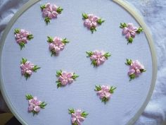 All over embroidery design for frocks. Silk Ribbon Embroidery, Hand Embroidery Designs, Smocking Tutorial, Brazilian Embroidery, Ribbon Art, Crochet Squares, Frocks, Diy And Crafts, Wedding Decorations