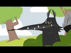 Le Loup et l'Agneau - Les Fables de La Fontaine en dessin animé - Jedessine.com - YouTube