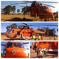 Elvis. Erickson Skycrane. Heyfield, Victoria. Australia 2013.