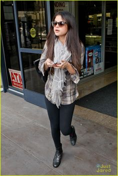 Selena Gomez casual outfit