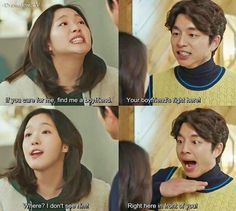 Goblin K.Drama Love this part! Gong Yoo, Korean Drama Funny, Korean Drama Quotes, K Drama, Drama Fever, K Pop, Goblin The Lonely And Great God, Goblin Korean Drama, Moorim School