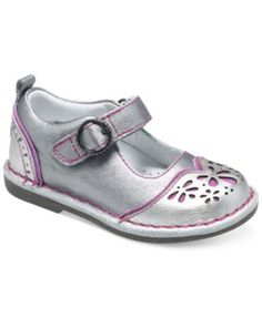 Stride Rite Little Girls' or Toddler Girls' Medallion Collection Vivien Shoes | macys.com