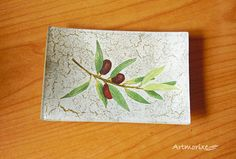 Artmorixe - Plato decoupage olivas