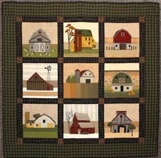 Barn Quilt, BOM, at The Cotton Patch