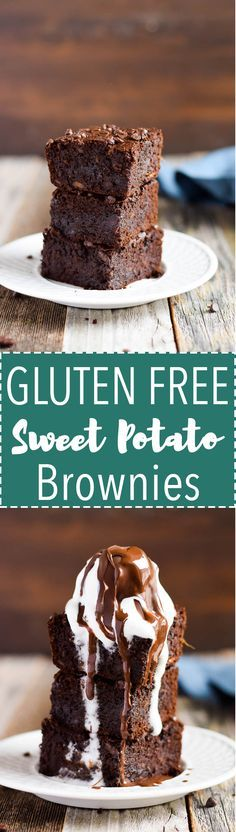 Gluten Free Sweet Potato Brownies are made with Coconut Flour!
