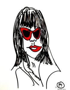 belle BRUT sketchbook: #rihanna #badgalriri #fashion #style #illustration #blindcontour  © belle BRUT 2014 http://bellebrut.tumblr.com/post/93654721570/belle-brut-sketchbook-rihanna-fashion-style