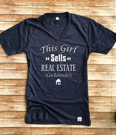 Unisex Tri-Blend T-Shirt Real Estate - Real Estate Advertisement