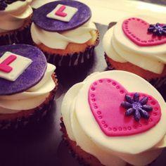 Hen Party Cupcakes.