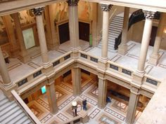 The Great Hall at The Carnegie Museum of Natural History