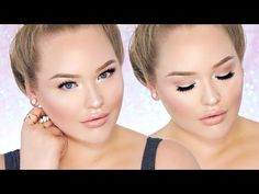 ▶ PERRIE EDWARDS Inspired Fresh/Nude Glam - Glowy Skin Makeup! - YouTube
