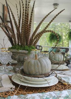 Spring to Fall Table: How to Style Five Different Looks From One Table Setting