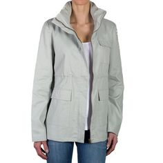 Nora Hooded Jacket Beige, $125, now featured on Fab.