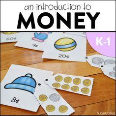 money activities, money in first grade, money games, Money Games For Kids, Money Activities, Free Activities, Montessori Activities, Kindergarten Activities, Math Games, Preschool Activities, Learning Activities, First Grade Games