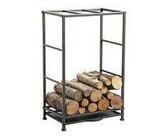"Stojan na dřevo ""Loft II"", 80 x 36 x 50 cm Antique Fireplace Mantels, Antique Mantel, Stove Fireplace, Fireplace Design, Stove Accessories, Firewood Rack, Iron Tools, Industrial, Antique Bottles"