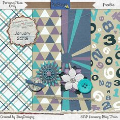 FREE BeezDesignz: SNP JANUARY BLOG TRAIN