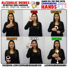 commanding hands bsl - Google Search Sign Language Words, Sign Language Alphabet, British Sign Language, Learn Bsl, Secret Handshake, Asl Signs, Natural Remedies, Alcoholic Drinks, Speech Pathology