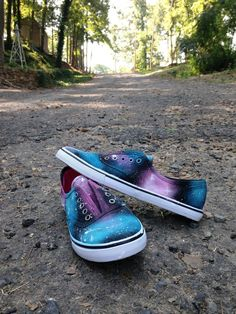 make it, love it DIY: Galaxy Shoes My niece came up with this idea and they are super cute! Check them out!