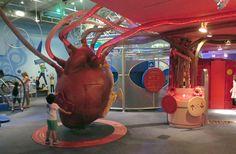 Children's Museum of Manhattan - coração- As Laranjinhas em NY