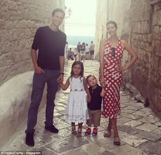 Family photo! Ivanka Trump and husband Jared Kusher hold hands in Italy with their kids Arabella and Joseph