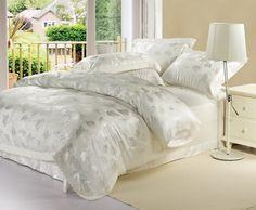 Bedding New Arrival Luxury Satin Silk Bedding Set Super King Queen ...