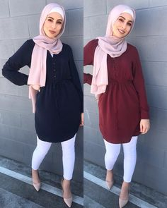 Perfect blouse,Maroon and Navy Modern Hijab Fashion, Hijab Fashion Inspiration, Abaya Fashion, Muslim Fashion, Modest Fashion, Girl Fashion, Uni Outfits, Fashion Outfits, Mode Turban