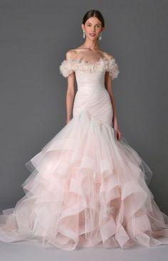 Wedding dress idea; Featured: Marchesa