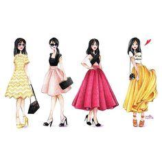 fashion blogger;