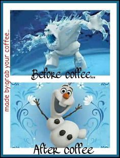 True but for people who drink coffee #frozen