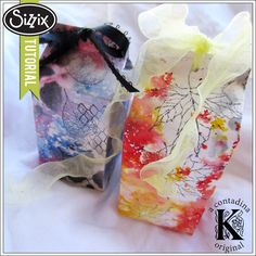 Sizzix Die Cutting Tutorial | One of a Kind Gift Boxes by Vivian Keh
