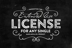 Universal Extended License by MakeMediaCo. on Creative Market