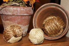 Turn Rope into Decorative Rope Balls by High Plains Knotwork - beautiful!