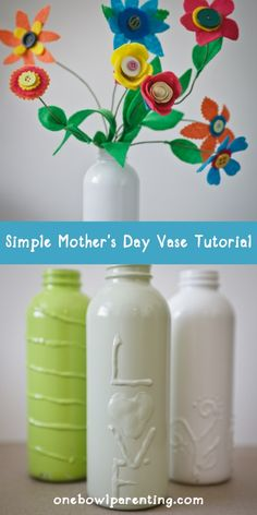 Mother's Day gift idea that the kids can help make.