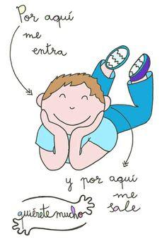 Láminas Positivas de QuiéreteMucho: A la gente tóxica... Por aquí me entra y por aquí me sale...----} @quieretemucho_