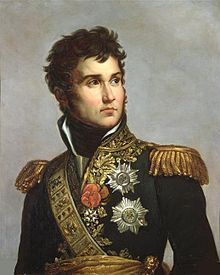 """Jean Lannes, Duc de Montebello, Prince de Siewierz April 1769 – 31 May was a Marshal of the Empire. He was one of Napoleon's most daring and talented generals. Napoleon once commented on Lannes: """"I found him a pygmy and left him a giant"""". French Empire, French Army, French Revolution, Napoleonic Wars, Julie, American Civil War, Military History, Battle, Southern France"""