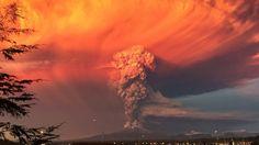 Erupción del volcán Calbuco en Chile. 22 de abril.